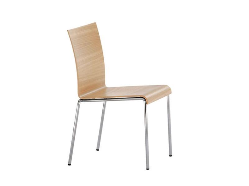 Wood veneer chair VERONA | Chair by Brunner
