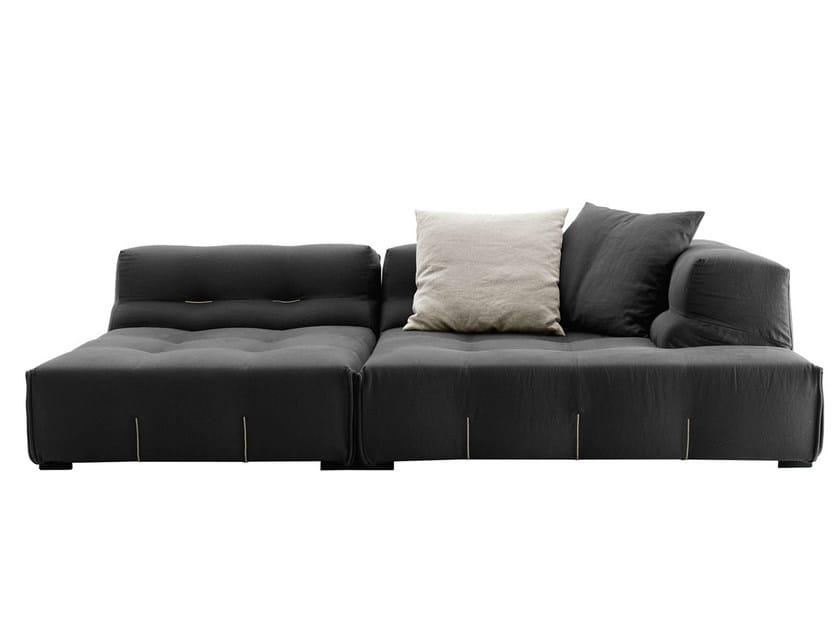 Sectional fabric sofa TUFTY-TOO   Sectional sofa by B&B Italia
