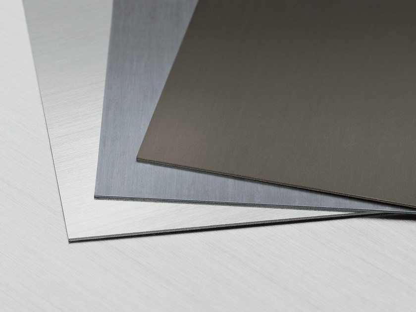 Titanium-Zinc Metal sheet and panel for roof PATINA LINE by RHEINZINK Italia