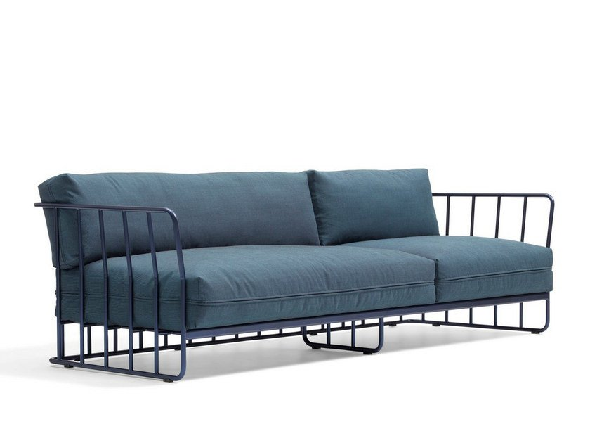 Fabric sofa CODE 27 | 4 seater sofa by Blå Station