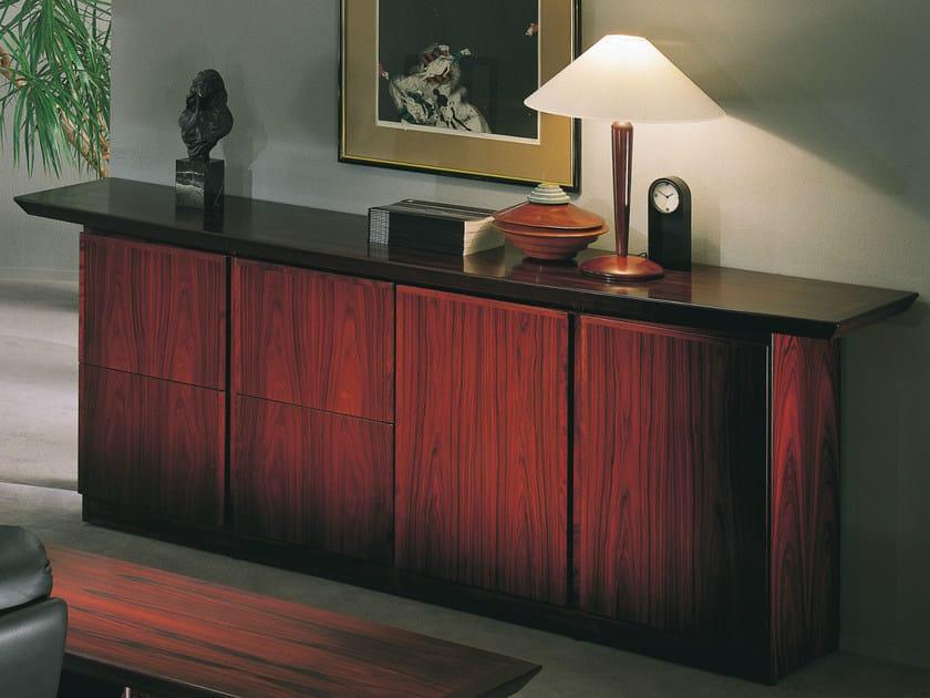Wooden sideboard / office storage unit CONCORDE   Low office storage unit by Dyrlund