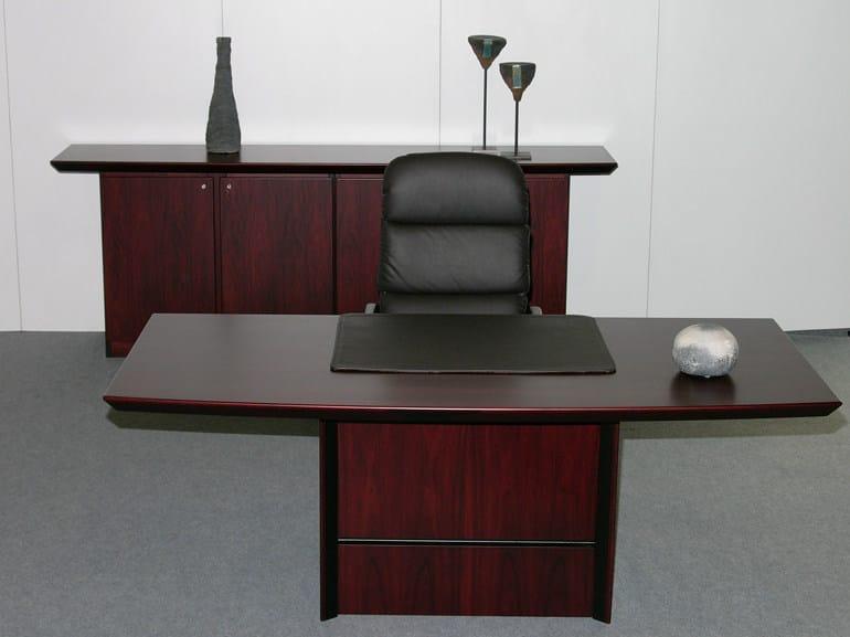 Rectangular executive desk CONCORDE | Rectangular office desk by Dyrlund