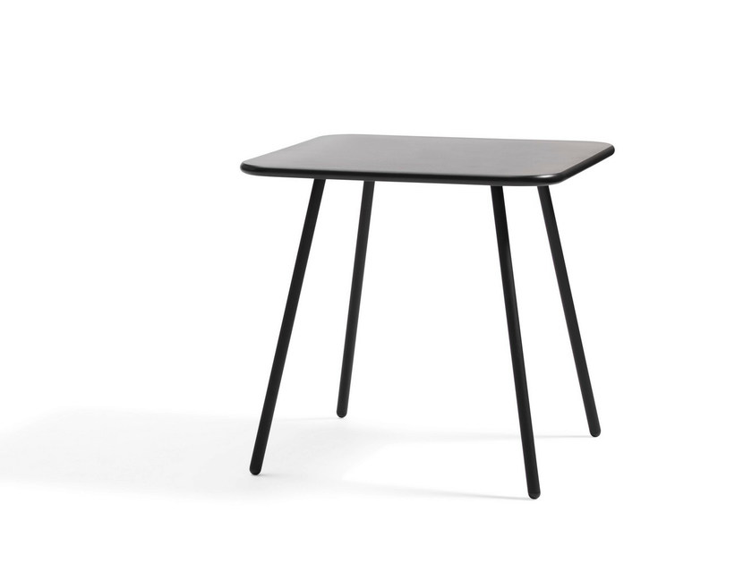 MDF coffee table / garden side table KAFFE | High garden side table by Blå Station