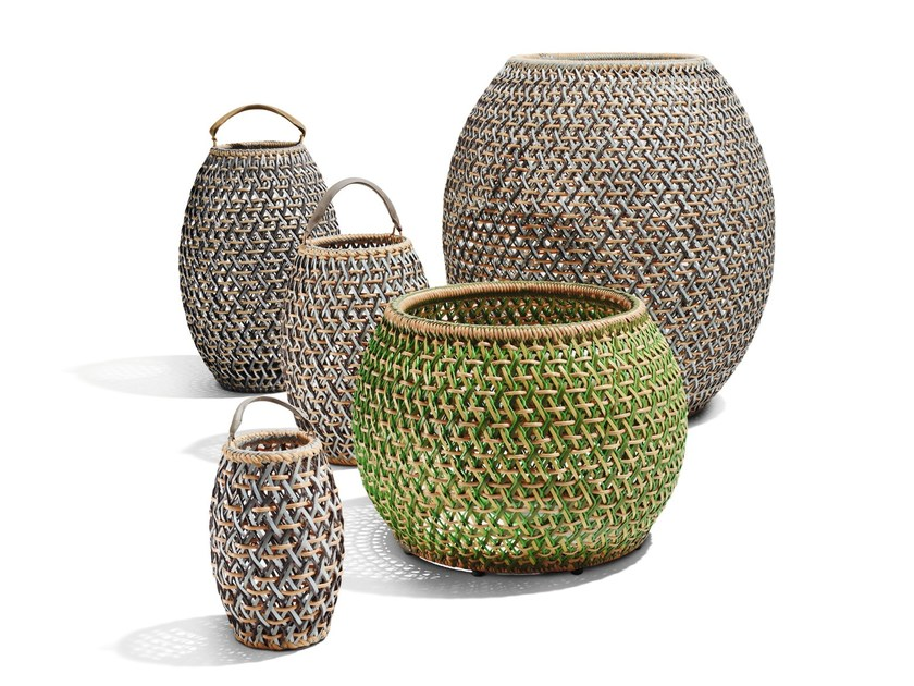 Composite material planter DALA | Planter by Dedon