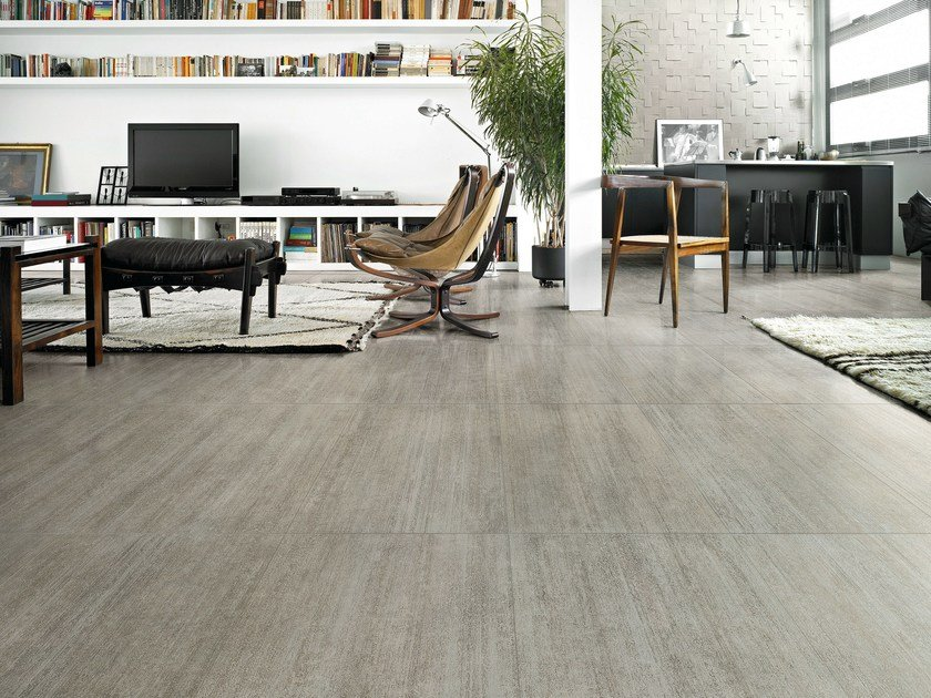 Porcelain stoneware wall/floor tiles with concrete effect DUTCH | Wall/floor tiles by CERAMICA SANT'AGOSTINO