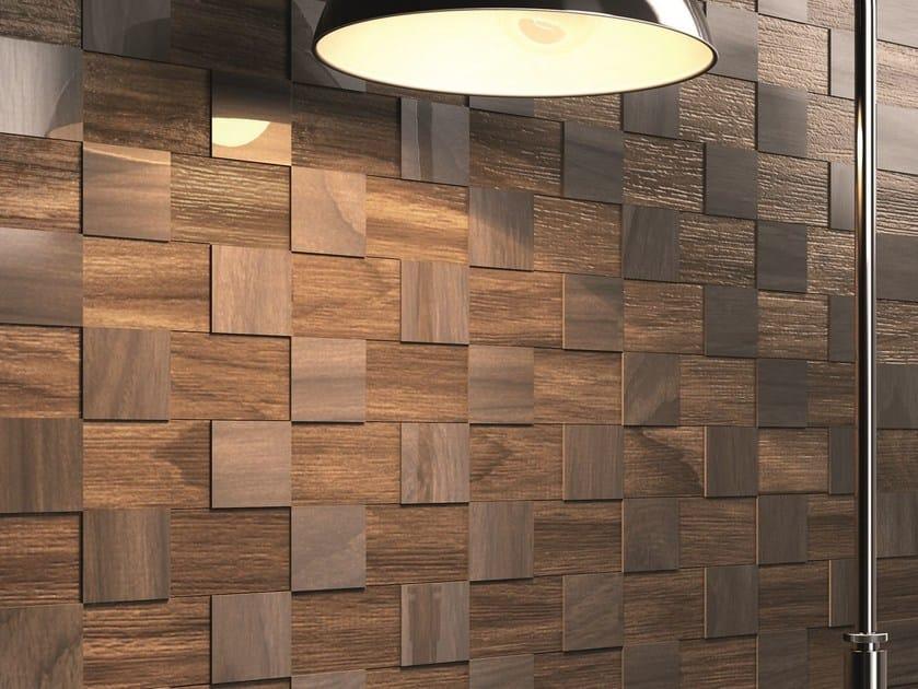 Porcelain stoneware 3D Wall Mosaic DUTCH | 3D Wall Mosaic by CERAMICA SANT'AGOSTINO