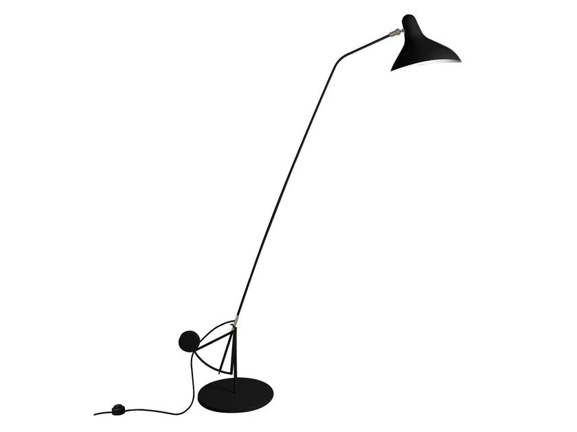 Steel floor lamp BS1 B by DCW éditions