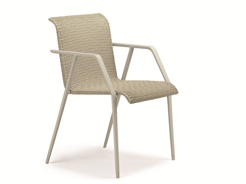 Garden chair with armrests WA | Garden chair by Dedon