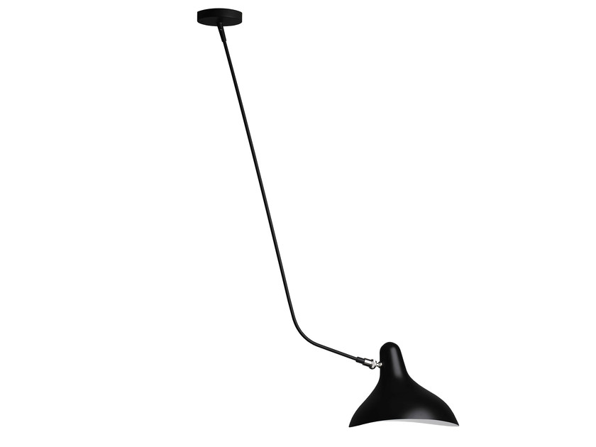 Direct light steel ceiling lamp BS4 by DCW éditions
