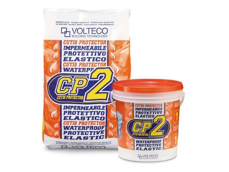 Waterproof wall coating CP2 by Volteco