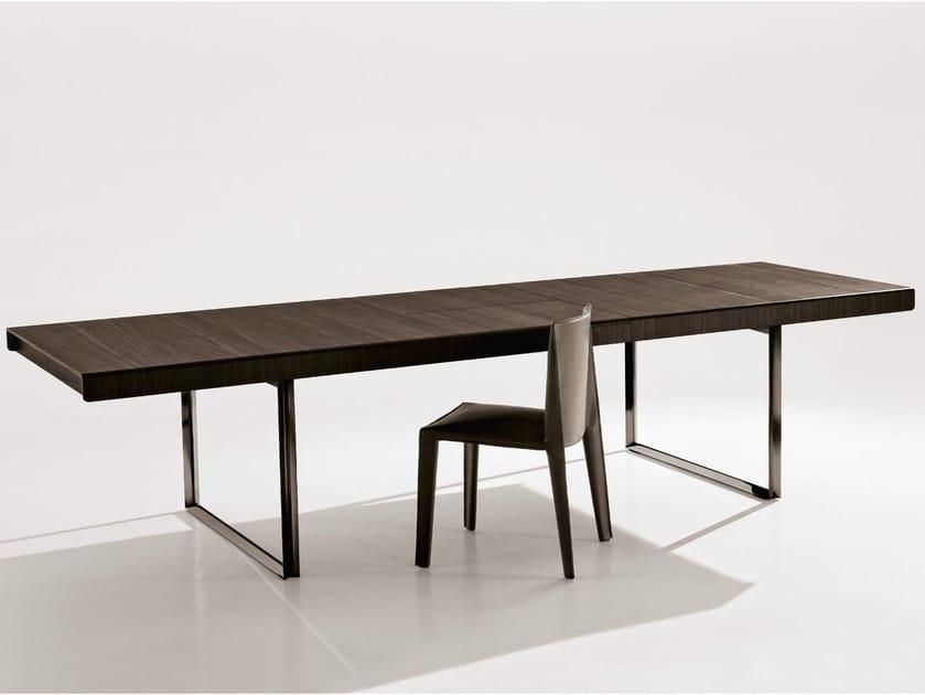 Extending rectangular table ATHOS 2012 by B&B Italia