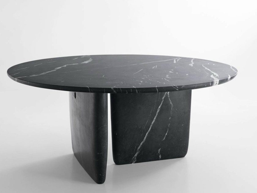 Round marble table TOBI-ISHI | Marble table by B&B Italia