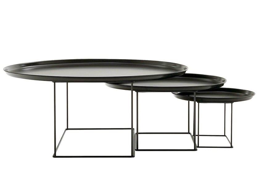 Steel coffee table / tray FAT FAT by B&B Italia