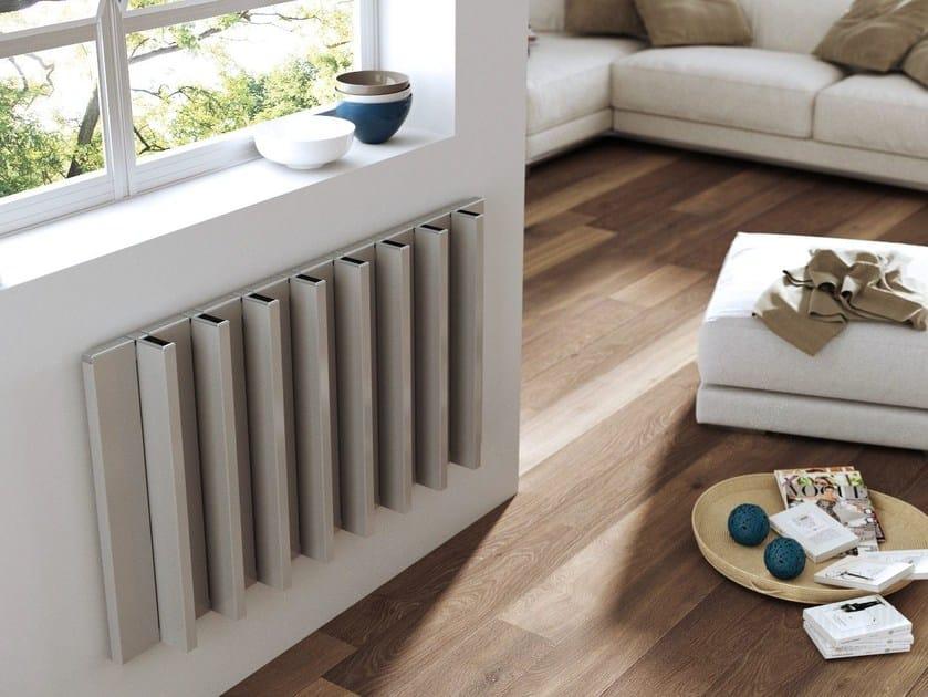 Horizontal aluminium radiator ROADS STF by CORDIVARI