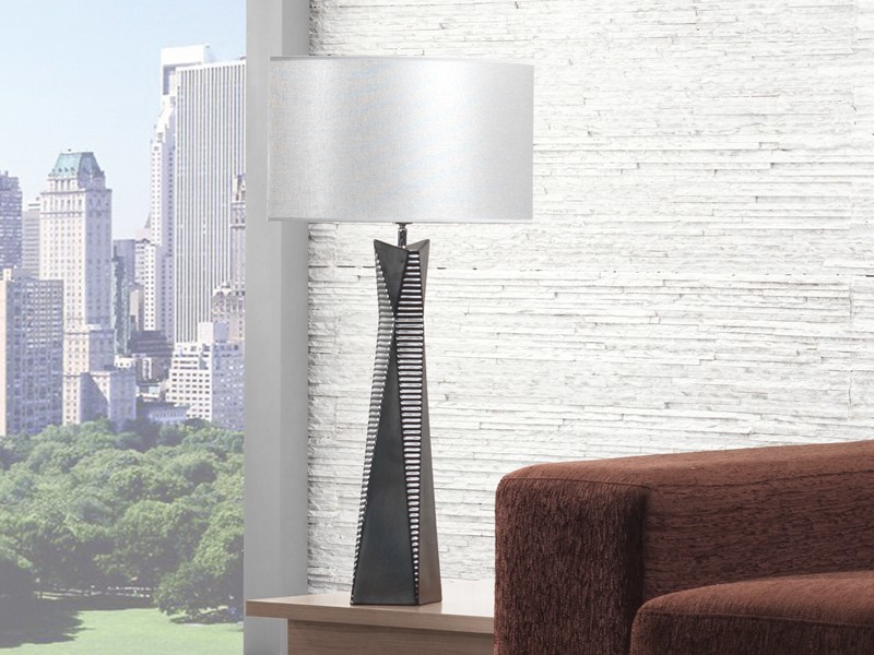 Ceramic table lamp PYRA by ENVY