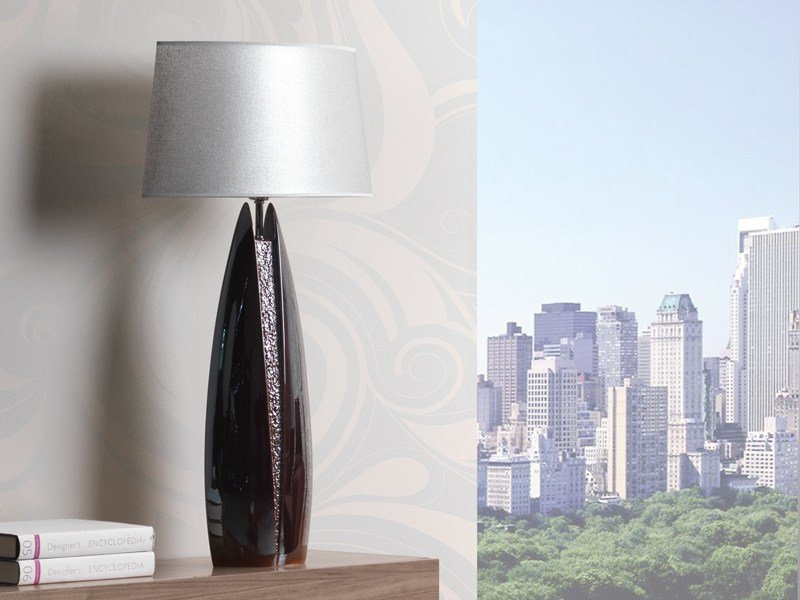 Ceramic table lamp SWANY by ENVY