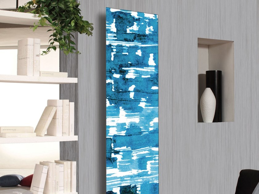 Carbon steel decorative radiator FRAME LAGOON by CORDIVARI