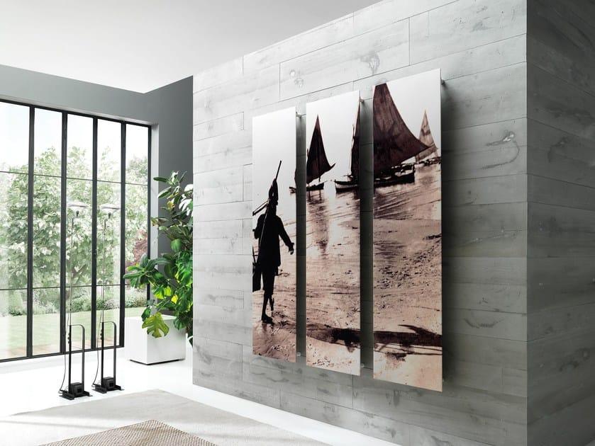 Carbon steel panel radiator FRAME PICTURE by CORDIVARI