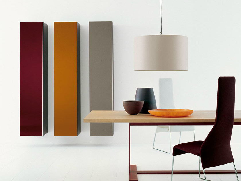 Open wall cabinet with door PAB | Wall cabinet by B&B Italia
