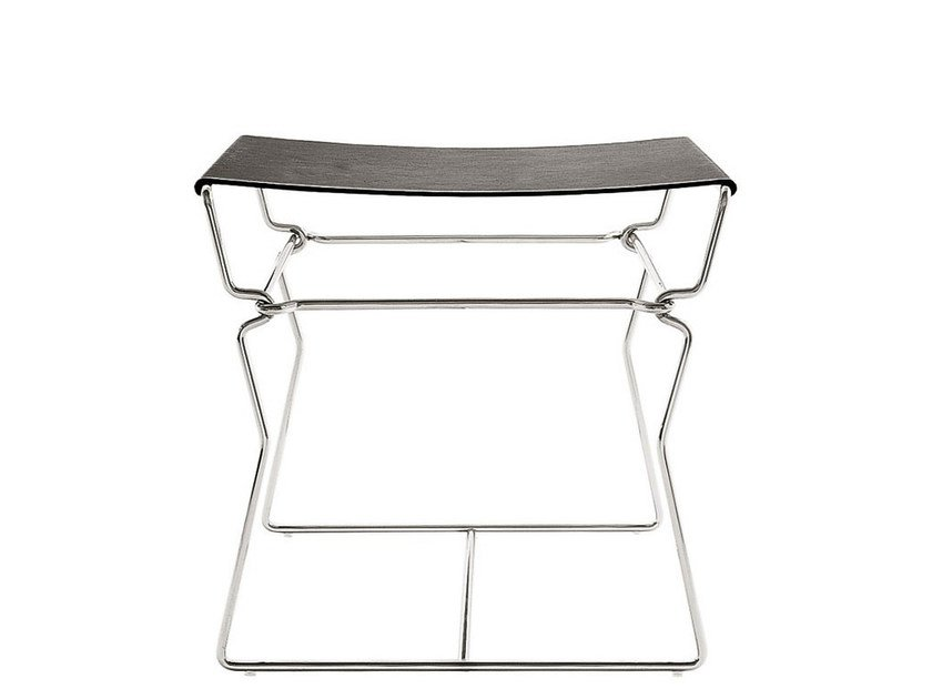 Leather stool / coffee table PYLLON | Stool by B&B Italia