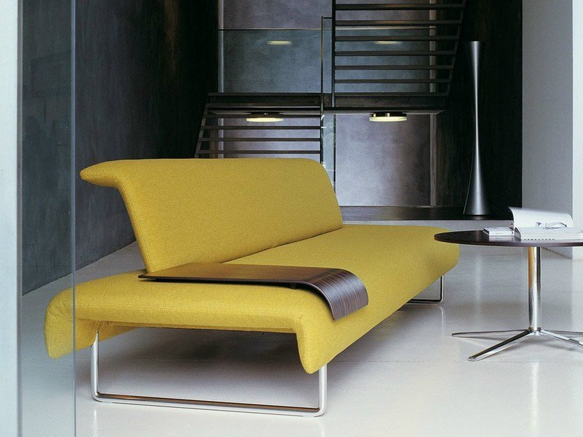 Upholstered fabric bench CLOUD by B&B Italia Project