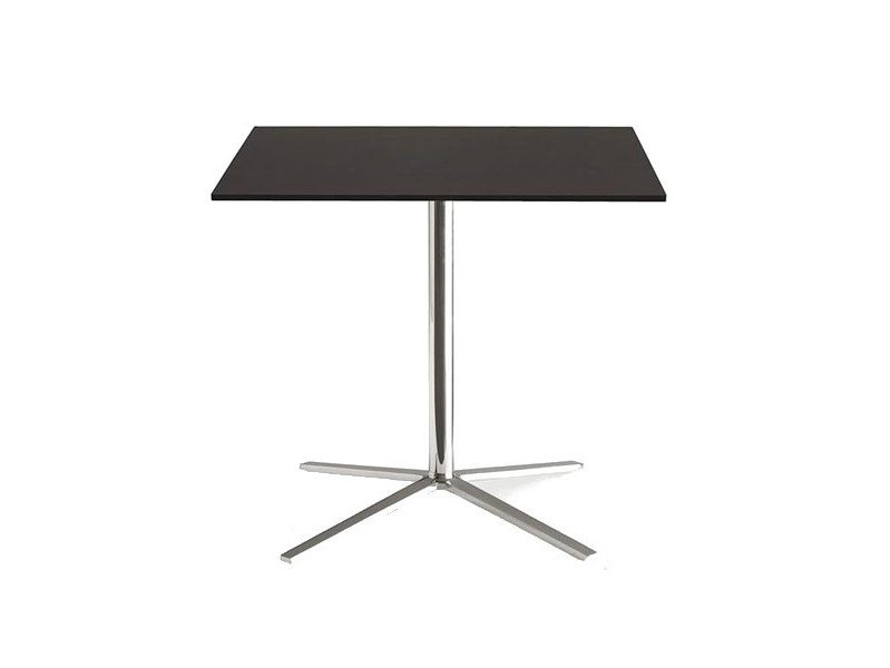 Square table with 4-star base COSMOS | Square table by B&B Italia Project