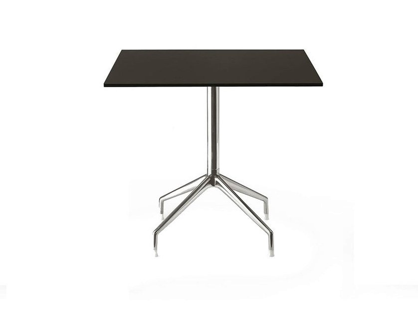 Square HPL contract table SINA   Square table by B&B Italia Project