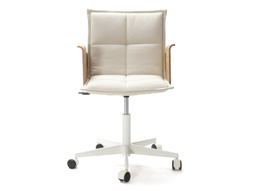 Task Chair With 5 Spoke Base With Armrests LAB Z | Chair With Armrests By
