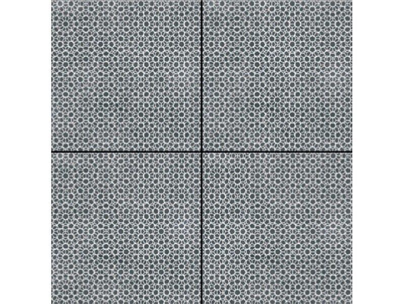 Glazed stoneware wall/floor tiles AZULEJ NERO RENDA by MUTINA