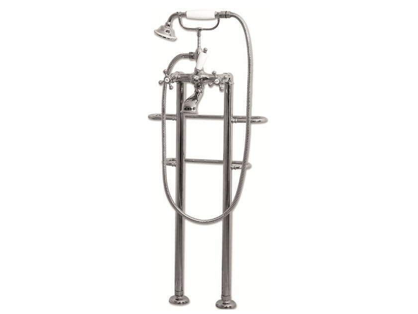Bathtub tap with hand shower RV112 by BLEU PROVENCE