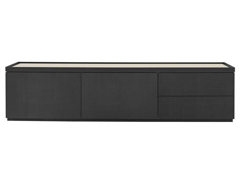 Oak sideboard with doors with drawers ESTAMPE | Sideboard by Ligne Roset