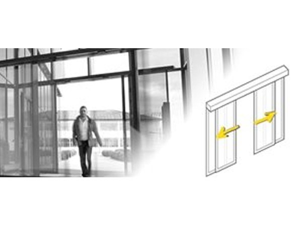 Automatic sliding door drive unit Design (SLX) by Gilgen Door Systems