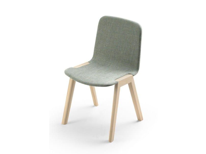 Fabric chair HELDU by ALKI
