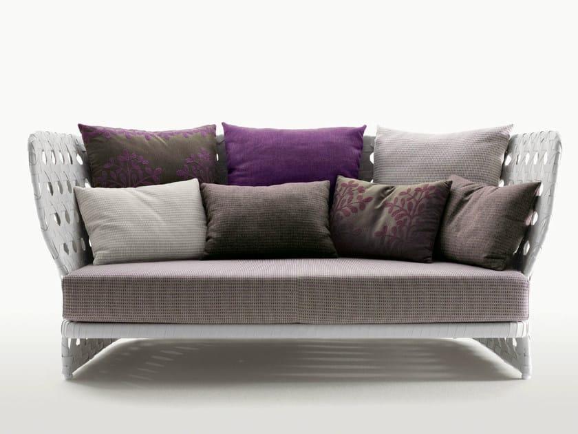 3 seater polyethylene sofa CANASTA | Sofa by B&B Italia Outdoor