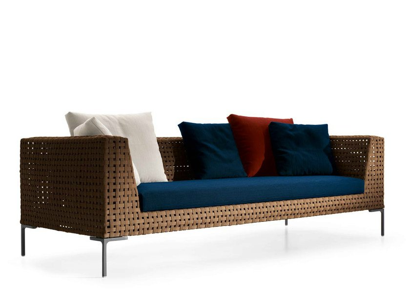 Polypropylene sofa CHARLES OUTDOOR   Sofa by B&B Italia Outdoor