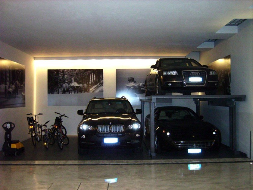 Automatic parking systems AS-1 by CARMEC