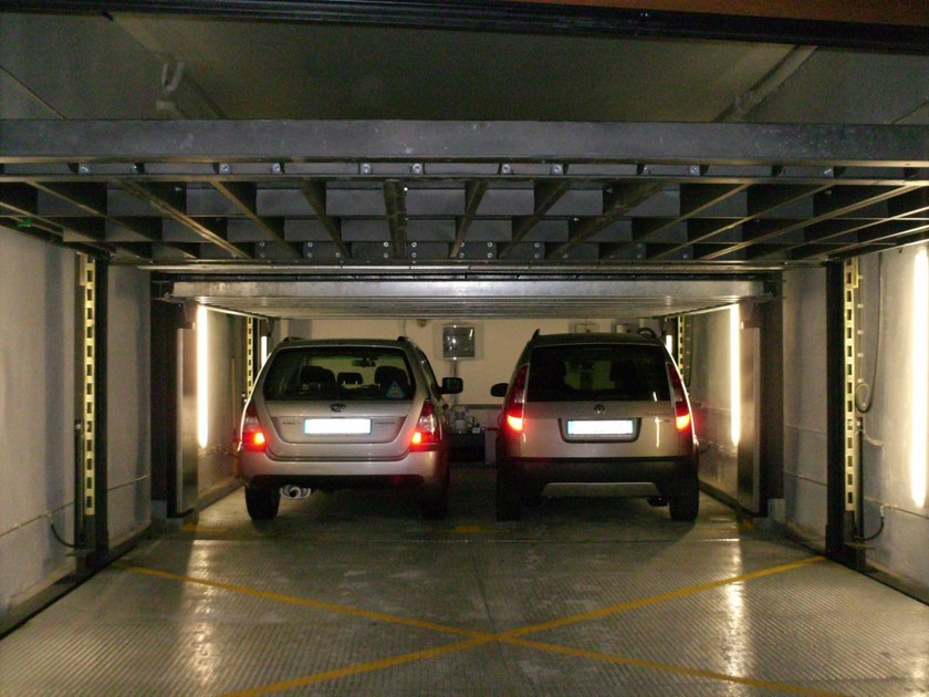Automatic parking systems AS-1D by CARMEC