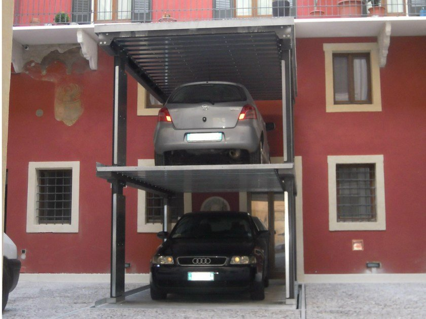Automatic parking systems AS-2P by CARMEC