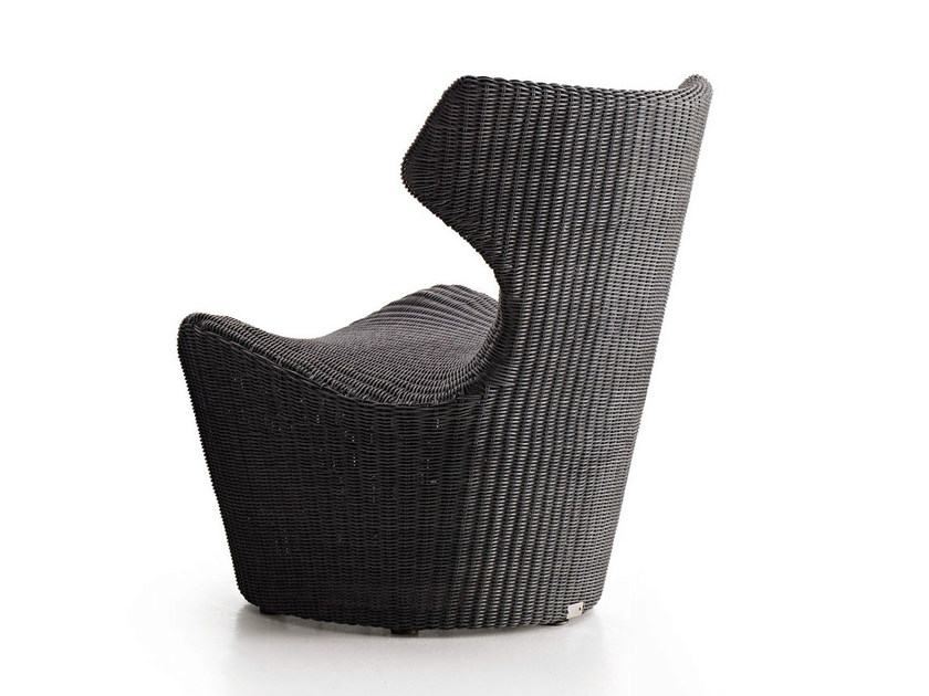 Polyethylene garden armchair PICCOLA PAPILIO by B&B Italia Outdoor