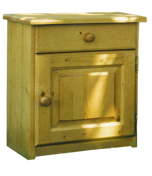 Wooden kids' bedside table with drawers DOMINIQUE | Kids' bedside table by Mathy by Bols