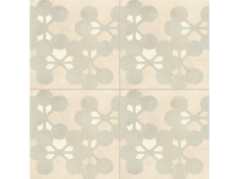 Glazed stoneware wall/floor tiles AZULEJ BIANCO FLORES by MUTINA