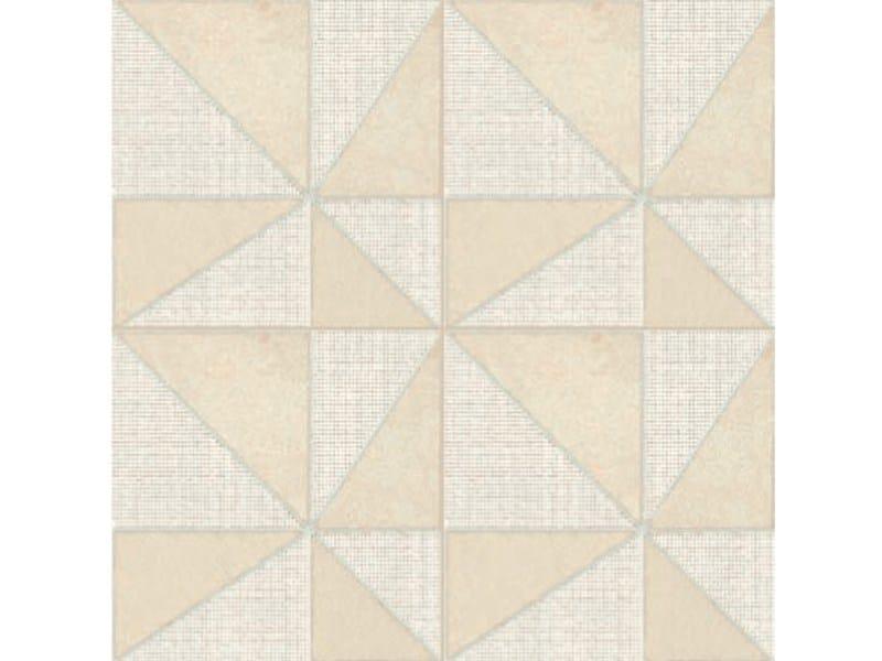 Glazed stoneware wall/floor tiles AZULEJ BIANCO GIRA by MUTINA