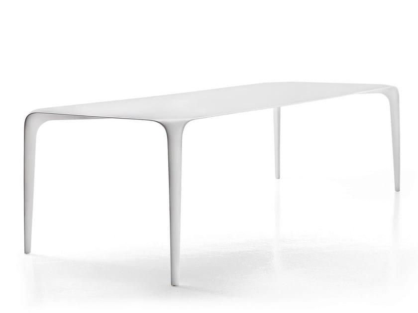 Rectangular Cristalplant® garden table LINK OUTDOOR by B&B Italia Outdoor
