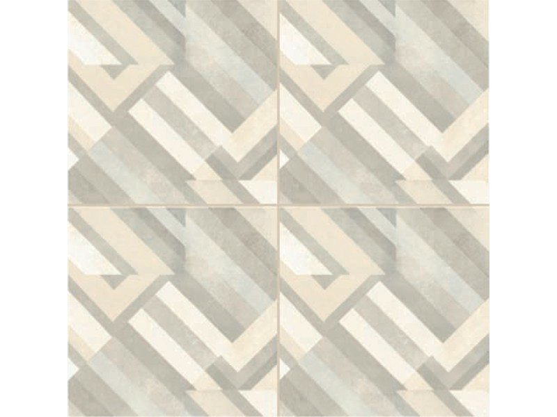 Glazed stoneware wall/floor tiles AZULEJ BIANCO PRATA by MUTINA