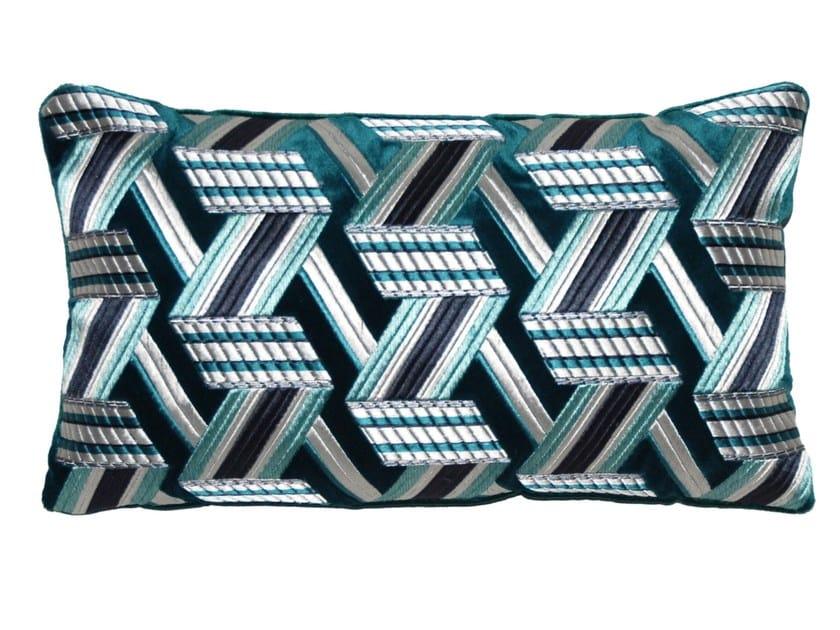 Rectangular cushion SUNRISE by LELIEVRE