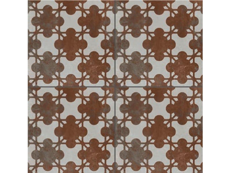 Glazed stoneware wall/floor tiles AZULEJ GRIGIO ESTRELA by Mutina