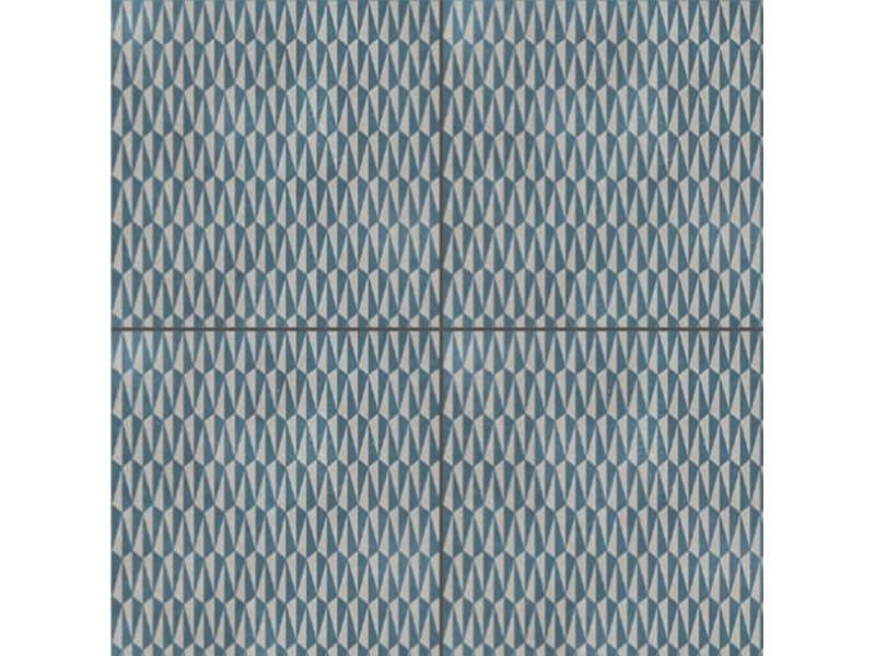 Glazed stoneware wall/floor tiles AZULEJ GRIGIO TRAMA by MUTINA