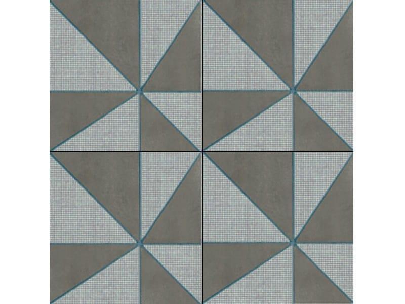 Glazed porcelain stoneware wall/floor tiles AZULEJ GRIGIO GIRA by Mutina