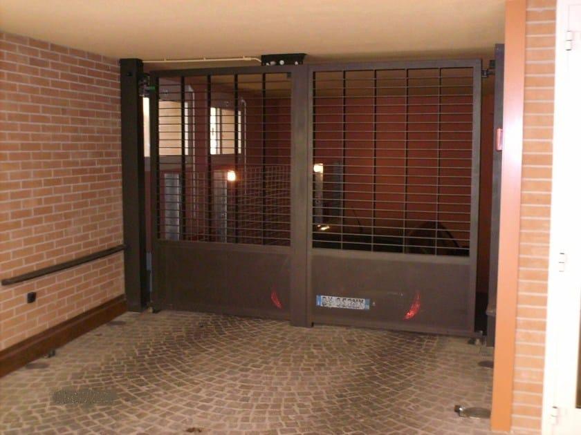 Swing Motorized metal gate Swing gate by CARMEC