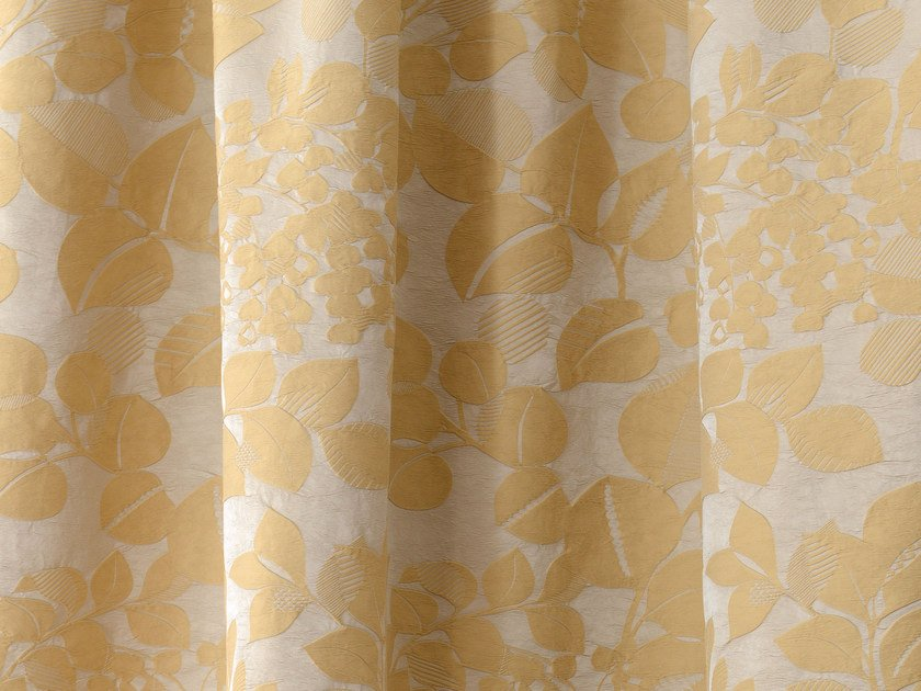 Fabric with floral pattern PHYLUM by LELIEVRE